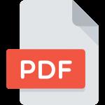 flat pdf icon